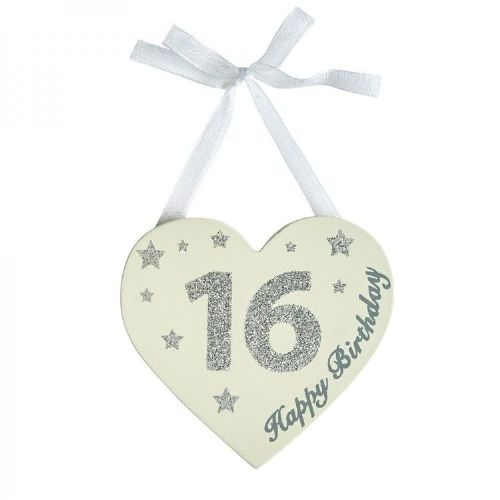 Transomnia - Happy Birthday sign silver - 16